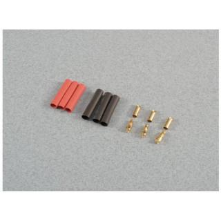 Konektor zlacený 3.5mm (3 páry)