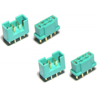 MULTIPLEX konektor samec + samice 2 páry