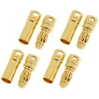 Konektor zlacený 3.5mm (4 páry)