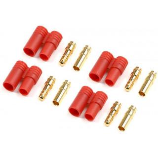 Konektor zlacený 3.5mm plastové pouzdro (4)