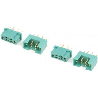 Konektor zlacený MPX (2 páry)