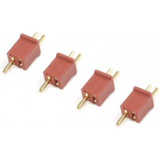 Konektor zlacený Mini Deans (2 páry)