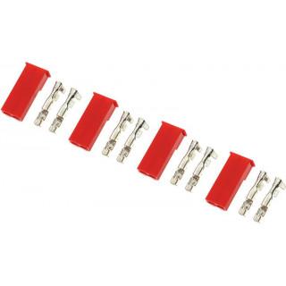 Konektor zlacený JST samec (4)