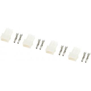 Konektor zlacený AMP samice (4)