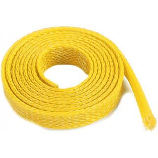 Ochranný kabelový oplet 8mm žlutý (1m)