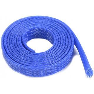 Ochranný kabelový oplet 10mm modrý (1m)