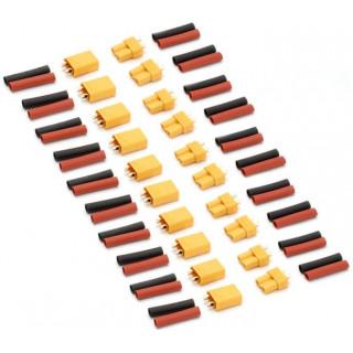 XT30 Konektor zlacený (10 párů)