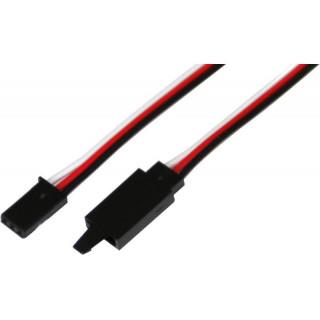 Kabel serva prodlužovací Futaba s klipem HD 100cm