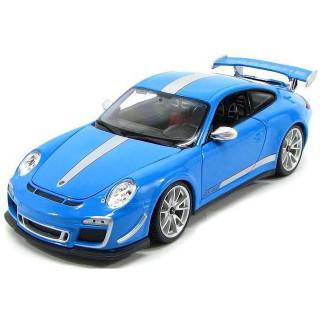 Bburago Plus Porsche 911 GT3 RS 4.0 1:18 modrá
