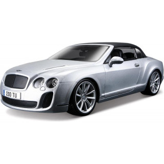 Bburago Plus Bentley Continental Supersports 1:18 stříbrná