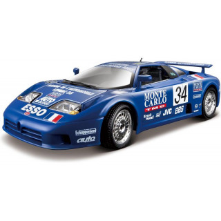 Bburago Plus Bugatti EB 110 Le Mans 1994 1:18 modrá