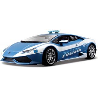 Bburago Plus Lamborghini Huracán LP 610-4 1:18 Polizia
