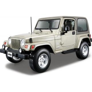 Bburago Jeep Wrangler Sahara 1:18 světlá khaki
