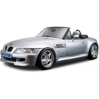 Bburago BMW M Roadster 1:18 stříbrná