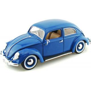 Bburago Volkswagen Käfer-Beetle 1955 1:18 modrá