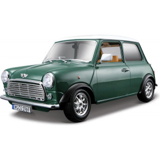 Bburago Mini Cooper 1969 1:18 zelená