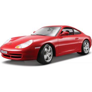 Bburago Porsche 911 Carrera 4 1:18 červená