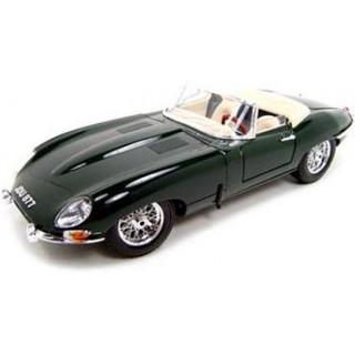 Bburago Jaguar E-type Cabriolet 1:18 zelená