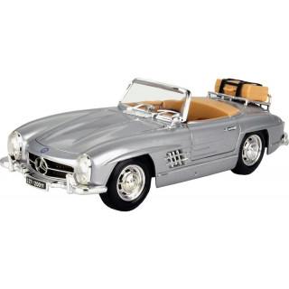 Bburago Mercedes-Benz 300 SL Touring 1957 1:18 stříbrná