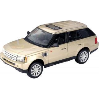 Bburago Range Rover Sport 1:18 šampaňská zlatá