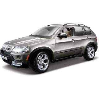 Bburago BMW X5 1:18 šedá metalíza