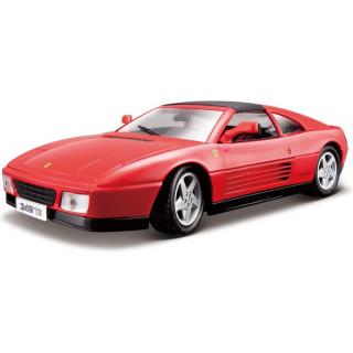 Bburago Ferrari 348ts 1:18 červená