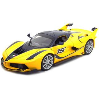 Bburago Ferrari FXX K 1:18 žlutá