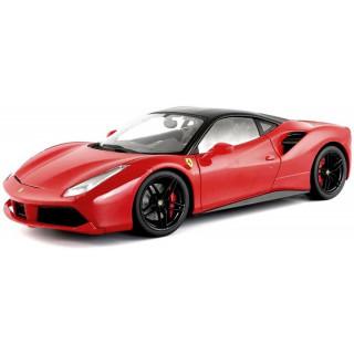 Bburago Signature Ferrari 488 GTB 1:18 červená