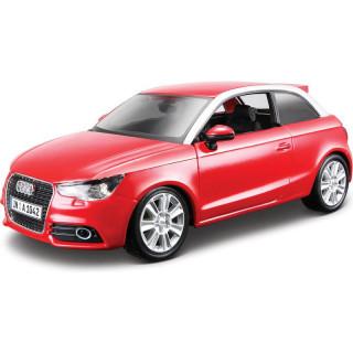 Bburago Plus Audi A1 1:24 červená