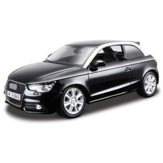 Bburago Plus Audi A1 1:24 černá