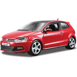 Bburago Plus VW Polo GTI Mark 5 1:24 červená