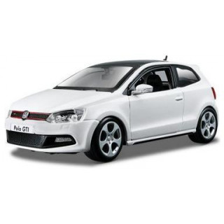 Bburago Plus VW Polo GTI Mark 5 1:24 bílá