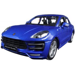 Bburago Plus Porsche Macan 1:24 modrá metalíza