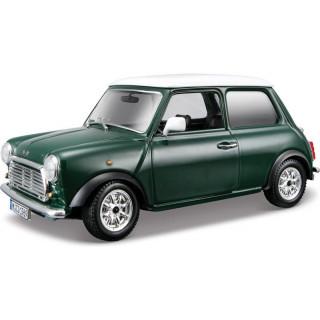 Bburago Mini Cooper 1969 1:24 zelená