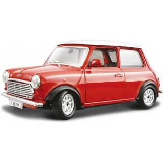 Bburago Mini Cooper 1969 1:24 červená