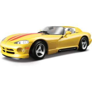 Bburago Dodge Viper RT/10 1:24 žlutá