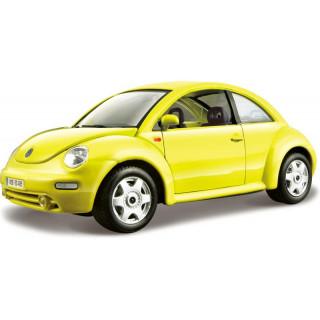 Bburago Volkswagen New Beetle 1:24 žlutá