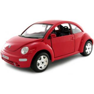 Bburago Volkswagen New Beetle 1:24 červená