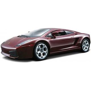 Bburago Lamborghini Gallardo 1:24 červená