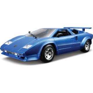 Bburago Lamborghini Countach 5000 Quattrovalvole 1:24 modrá