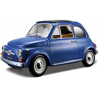 Bburago Fiat 500F 1965 1:24 modrá