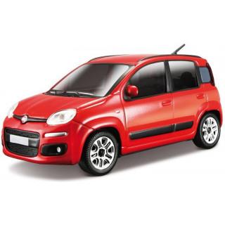 Bburago Fiat Nuova Panda 1:24 červená