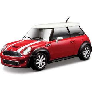 Bburago Mini Cooper S 1:24 červená