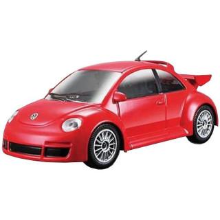 Bburago Volkswagen New Beetle RSI 1:24 červená