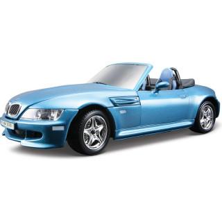 Bburago Kit BMW M Roadster 1996 1:24 modrá metalíza