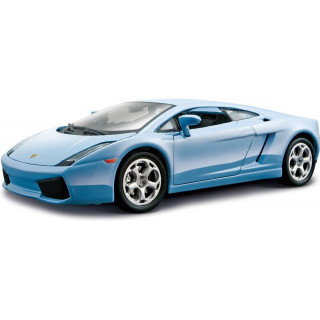 Bburago Kit Lamborghini Gallardo 1:24 modrá