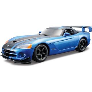 Bburago Kit Dodge Viper SRT 10 ACR 1:24 modrá