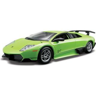 Bburago Kit Lamborghini Murciélago LP 670-4 SV 1:24 zelená