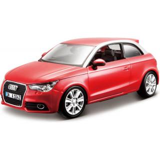 Bburago Kit Audi A1 1:24 červená