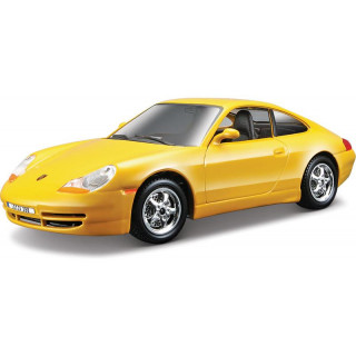 Bburago Kit Porsche 911 Carrera 1:24 žlutá